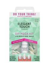 Elegant Touch Totally Bare Nails Bumper Kit Mixed Set-216 nails+natural french