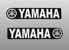 2 Stück YAMAHA Classic -  Aufkleber-Set - weiss-schwarz - Motorrad, Tank