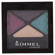 RIMMEL LONDON GLAM EYES QUAD EYESHADOW 014 BOLD BEHAVIOUR (BOLD COLOURS)