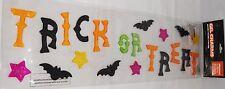Halloween Gel Window Stick -Ons  TRICK OR TREAT