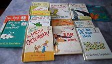 Lot Vintage Dr. Seuss Books 15 Hard Cover No Duplicates