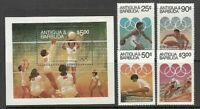 Antique Vintage Mail Yvert 731 / 4+ Hb 74 MNH Olympics of The Angeles