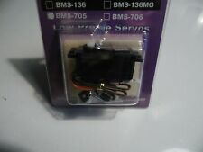 Blue Bird BMS-705 Low Profile Servo 6 Kg / 4.8 V - 0.31  Sec / 60 °