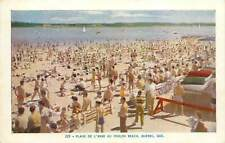 Canada Foulon Beach Quebec Plage de l'Anse Postcard