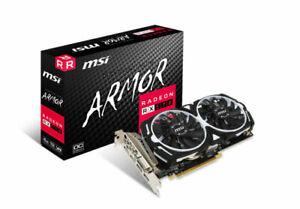MSI Radeon RX 570 ARMOR 4G OC 4GB GDDR5 Graphics Card (V341-077R)