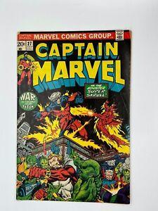 Captain Marvel #27 1st Ero Starfox Eternals Fine Marvel Comics 1973 Harry Styles