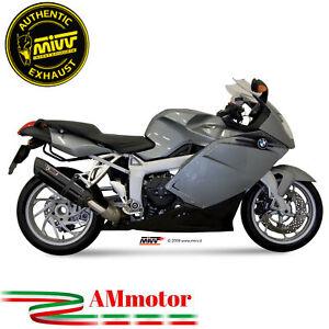 Mivv Bmw K 1200 R / S / GT 2006 Terminale Di Scarico Moto Marmitta Suono Black