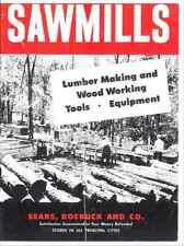 Sears - Dunlap - Sawmills: Lumber Making & Wood Working Tools, Equipment-reprint