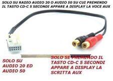 Aux Line-In kabel kabel 50 cm. Mercedes Comand Aps NTG2 Klasse Bc CLK GL M R S