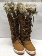 Polar Boots Fur Cuff Womens Size 8