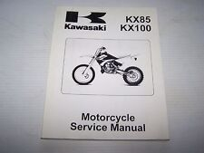 USED Kawasaki  KX85/KX100 SERVICE MANUAL 99924-1265-01