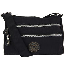Schultertasche Tasche City Bag kleines Organisationswuder Umhängetasche Schwarz