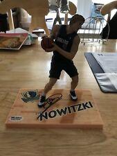 Dirk Nowitzki Mavericks Signed Auto Mcfarlane Action Figurine SGC COA
