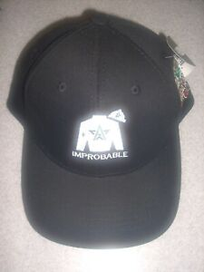 Horse Racing Kentucky Derby 145 Improbable Silks Hat Cap NWT Bob Baffert Winstar