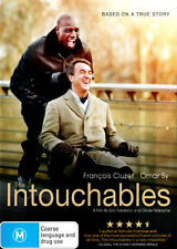 The Intouchables NEW DVD (Region 4 Australia) Francois Cluzet Omar Sy