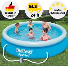 Bestway Fast Set Pool Schwimmbecken Gartenpool Quick Up Pool 366 x 76 cm Pool