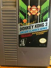 Donkey Kong 3 for NES ~