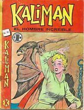 Kaliman El Hombre Increible #23 - Mayo 7, 1966- Mexico