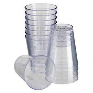 Plastic Shot Glasses 2cl / 30ML Plastic Shot Cups Jelly Cups Clear Shot Cups