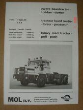 MOL  Model T5264/05  Heavy road tractor - Schwerlaster  dépliant / brochure