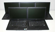 Lot of (5) Dell Latitude E6410 Laptops 2.40/2.67GHz Core i5 1st Gen 2/4GB RAM