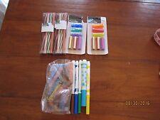 Sport Twisted Erasers Football Baseball Soccer Basketball Lot Pencil Grips Chalk