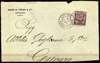 1805 - Francia, uffici postali all'estero (Levante) - Frontespizio da Smirne