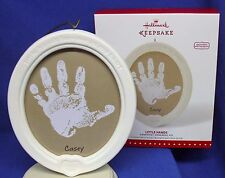 Hallmark Little Hands 2015 Kids Personalize with Handprint Ornament Kit NIB