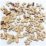 Dekor CRAFT Kartenherstellung Scrap Heiß! 50 Mini hölzerner MIXED Schmetterling