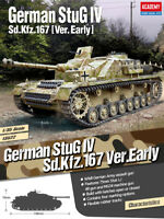 1/35 German StuG IV sd.kfz.167 Ver.Early #13522 ACADEMY HOBBY MODEL KITS