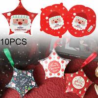 10x Schönes Geschenkbox Gastgeschenk Weihnachten Bonbon Party Gifts Stern Boxes