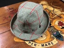 Ultra Rare Hackett Horse & Hound Tweed Trilby Vintage Only A Handful Made BNWOT