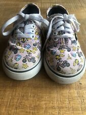 Vans Shoes Mario Kart Girls Size 6
