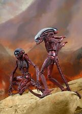 "Alien - 9"" Scale Alien Big Chap & Dog Alien Twin Pack-interrompu-NECA"