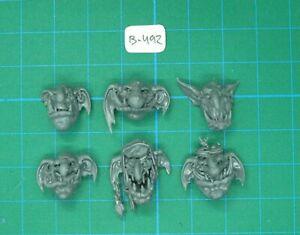 Troll Heads Rockgut Troggoths Warhammer Fantasy Age of Sigmar Gloomspite Gitz
