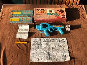 Vintage Marx Flashy Flickers Magic Picture Gun Boxed With Films & Extras