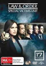 Law and Order: Special Victims Unit - Season 17 NEW R4 DVD