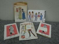 Lot of Vintage Sewing Patterns-Women & Girls-Simplicity-Butterick