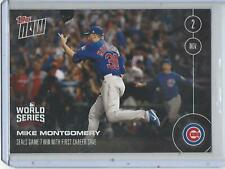 2016 Topps Now-#662 MIKE MONTGOMERY - SEALS GAME 7 WITH FIRST CAREER SAVE
