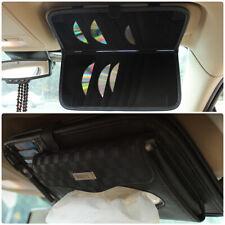 PU Leather Car Sun Visor Tissue Napkin Storage Box Organiser Card CD DVD Holder