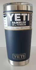YETI - AUTHENTIC Navy Rambler 20 oz Tumbler with MagSlider Lid $30 NWT