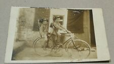 Foto Cartolina Bersaglieri Ciclisti guerra Bicicletta prima guerra ww1 Spedizion