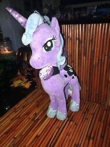 "MY LITTLE PONY Princess LUNA MOON PLUSH 14"" Season One toy Aurora MLP 2014 W/tag"