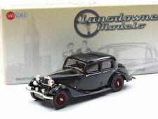 Lansdowne Models LDM 74a 1937 Riley 12/4 Continental Touring Sedan black 1:43