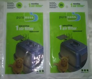 Lot of 2 Zeolite Air Filter Replacements