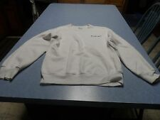 Fruit of the loom white men's size S with Duck NC on front sweatshirt