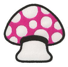 Patch écusson patche Champignon Tue Mouche badge couture Mushroom