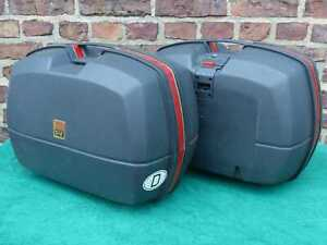 Koffersatz: 2 Koffer GIVI Monokey E45 E 45 Motorradkoffer Panniers Valises