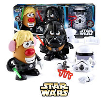 Star Wars Mr. Potato Head Luke Frywalker Darth Tater Spudtrooper Figures Playset