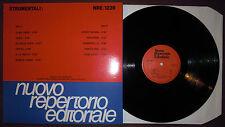 LP EZIO RANALDI Strumentali (Nuovo Repertorio 90) Italian lounge bossa library M